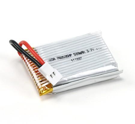 3.7V-500mAh-20C-lipo-batterij