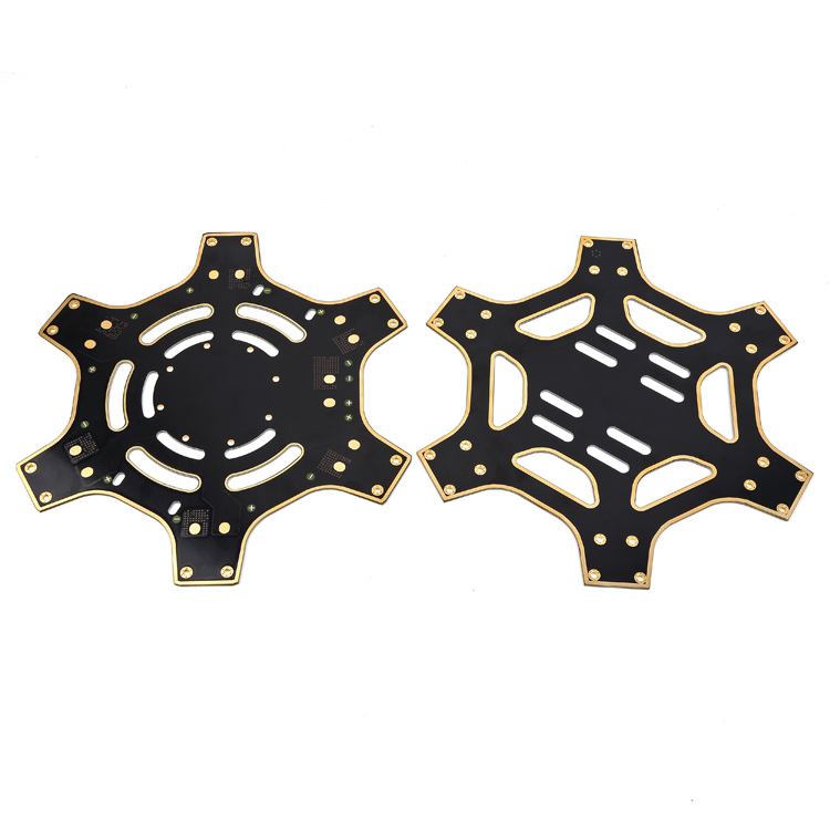 Dji_F550_TOP_BOTTOM_Plate_Central_Frame