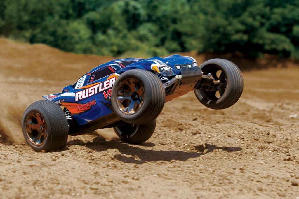 Traxxas Rustler VXL Brushless w-TSM 2.4GHz (incl. 8.4V battery and charger) TRX37076-3-02