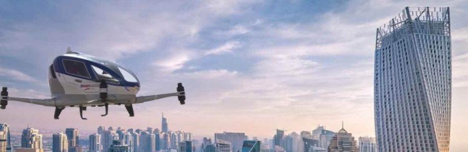 Dubajus – skraidančių taksi miestas